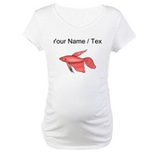 Custom Pink Betta Fish Shirt