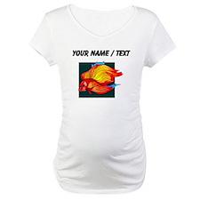 Custom Orange Betta Fish Shirt