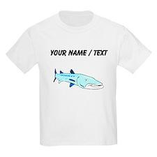 Custom Blue Barracuda T-Shirt