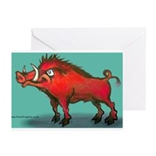 Cute Arkansas sports Greeting Cards (Pk of 10)