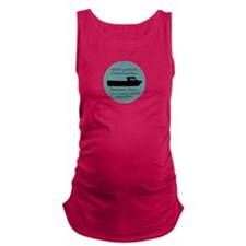 Andy-Red-charter-boat Maternity Tank Top