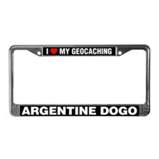 I Love My GeoCaching Argentine Dogo