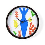 Artsy Wall Clock