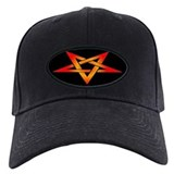 Flaming Pentagram Baseball Hat