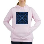 Rusty Shipping Container - blue Women's Hooded Swe