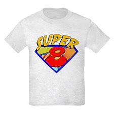 Super Hero 8th Birthday T-Shirt