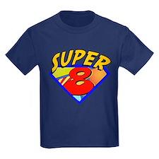 Super Hero 8th Birthday T
