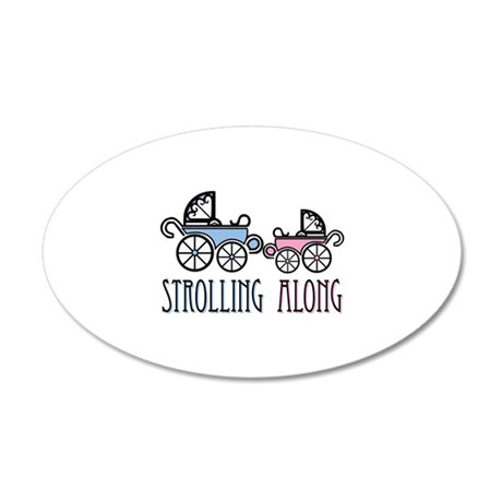 Strolling Along Wall Decal