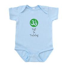 Cute Zen and yoga Infant Bodysuit