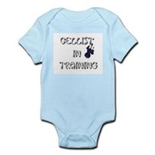 """Cellist in Training"" Infant Bodysuit"