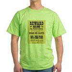 Wanted Sam & Belle Starr Green T-Shirt