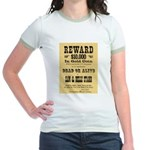Wanted Sam & Belle Starr Jr. Ringer T-Shirt