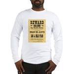 Wanted Sam & Belle Starr Long Sleeve T-Shirt