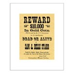 Wanted Sam & Belle Starr Small Poster
