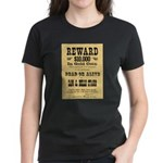 Wanted Sam & Belle Starr Women's Dark T-Shirt