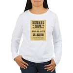 Wanted Sam & Belle Starr Women's Long Sleeve T-Shi