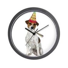 Jack Russell Terrier Birthday Wall Clock