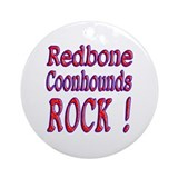 Redbone Coonhounds Ornament (Round)