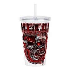 Heavy Metal Monsters C Acrylic Double-wall Tumbler