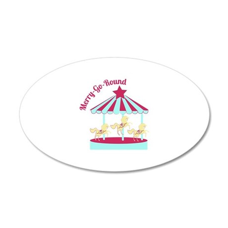 Merry-Go-Round Wall Decal