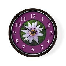 Cool Pink gerbera daisy Wall Clock