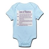 Asimov's Robot Series Laws of Robotics Infant Body