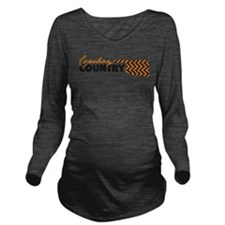 Cute Oklahoma Long Sleeve Maternity T-Shirt