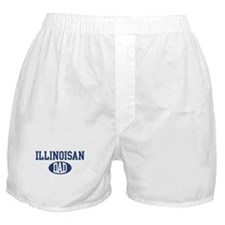 Illinoisan dad Boxer Shorts
