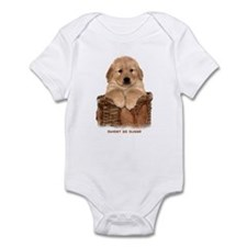 "Golden Retriever ""Sweet as Sugar"" Infant Creeper"