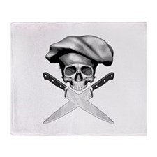 Chef Skull: 2 Throw Blanket