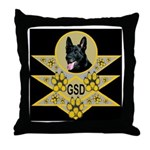 GSD Spiritual Embrace Throw Pillow