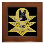 GSD Spiritual Embrace Framed Tile