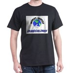 World's Greatest GRANDCHILDREN Dark T-Shirt