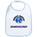 World's Greatest GRANDCHILDREN Bib