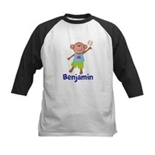 Baseball Boy Monkey Personalized Baseball Jersey
