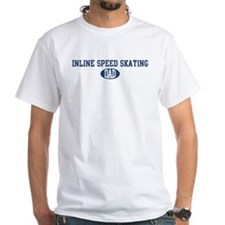 Inline Speed Skating dad Shirt