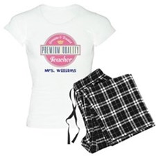Teacher Vintage Personalized Pajamas