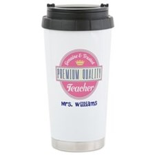 Teacher Vintage Personalized Travel Mug