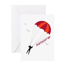 Airborne Greeting Cards