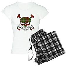 Maguire Tartan Skull Pajamas