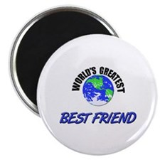 "World's Greatest BEST FRIEND 2.25"" Magnet (10 pack"