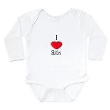 Funny Skittles Long Sleeve Infant Bodysuit