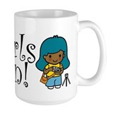 Girl Photographer Coffee Mug