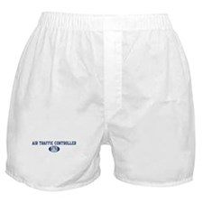Air Traffic Controller dad Boxer Shorts