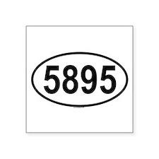 """Cool 9 Square Sticker 3"""" x 3"""""""