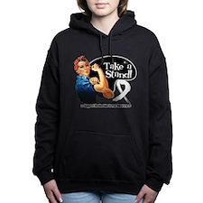 Retinoblastoma Take a Stand Women's Hooded Sweatsh