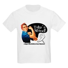 Mesothelioma Take a Stand T-Shirt