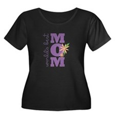 World's Best Mom Plus Size T-Shirt