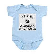 Team Alaskan Malamute Infant Bodysuit