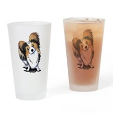 Tricolor Papillon Drinking Glass